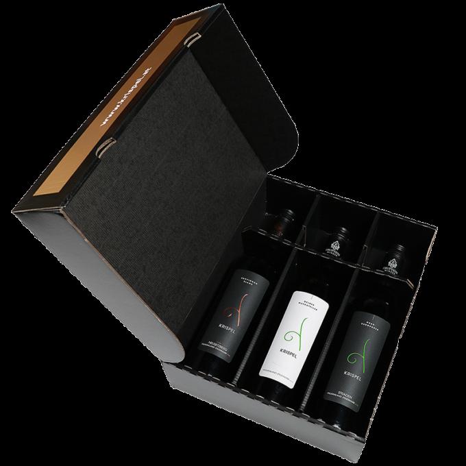 3er Geschenksbox Wein