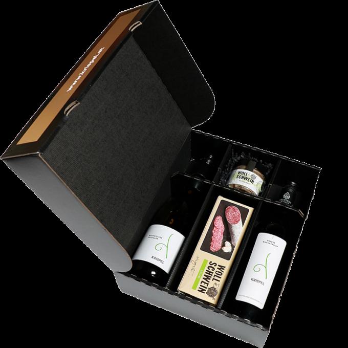 3er Geschenksbox befüllt
