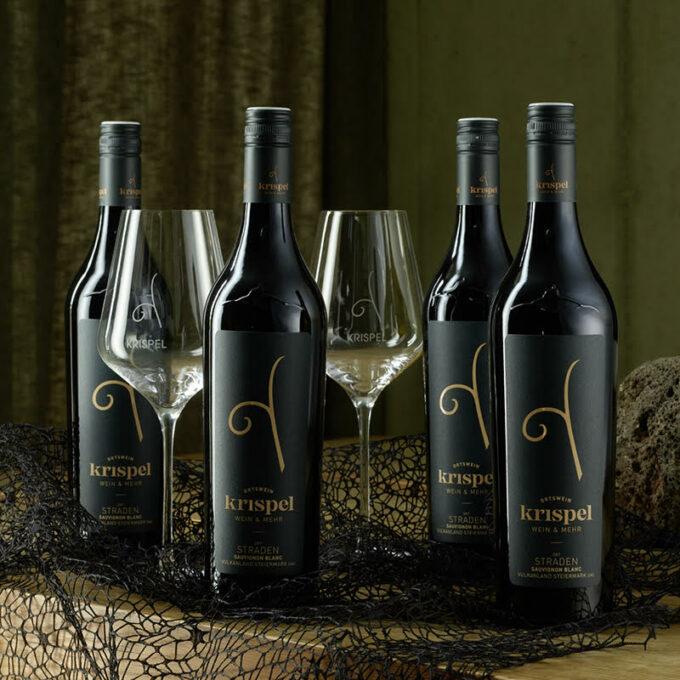 Krispel Paket mit 2 Weingläsern